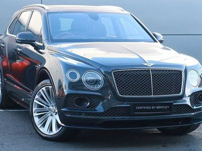 used Bentley Bentayga 6.0 W12 Speed 5dr Auto