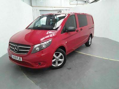 used Mercedes Vito 116 CDI 163 L2H1 PREMIUM LWB 5 SEAT CREW VAN 7G-TRONIC 2.2