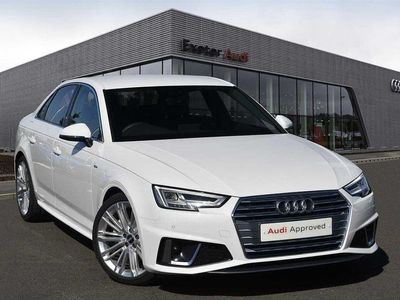 used Audi A4 40 TDI S Line 4dr S Tronic
