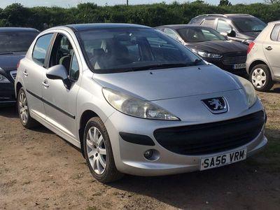 used Peugeot 207 1.6 16v SE Hatchback 5dr Petrol Manual (166 g/km, 110 bhp)