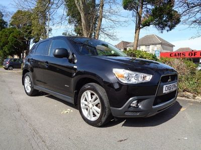 used Mitsubishi ASX 1.8TD COMPLETE WITH M.O.T, HPI CLEAR, INC WARRANTY - PART EX WELCOME 01202 5-Door