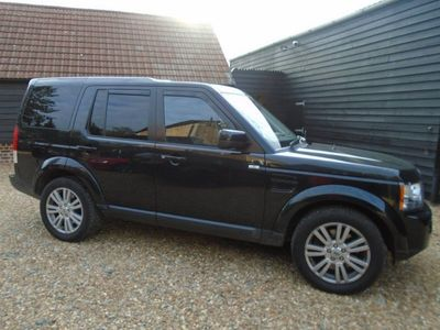 used Land Rover Discovery 4 3.0 SD V6 Panel Van 5dr
