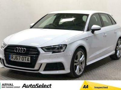used Audi A3 Sportback 2.0 TFSI S line 5dr Petrol Manual (s/s) (190 ps)