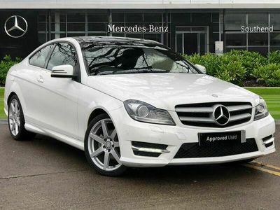 used Mercedes C220 C-ClassCDI AMG Sport Edition 2dr Auto [Premium Plus]