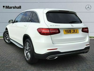used Mercedes E250 GLC Class d 4Matic AMG Line 5dr 9G-Tronic Estate 2018