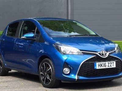 used Toyota Yaris 1.33 VVT-i Design 5-Dr 5dr