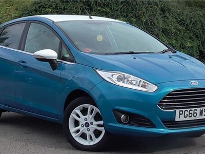 used Ford Fiesta 1.25 82 Zetec Blue 5dr