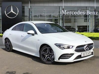 used Mercedes CLA35 AMG 4Matic 4dr Tip Auto
