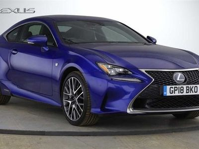 used Lexus RC300h 2.5 F-Sport 2dr CVT Coupe 2018