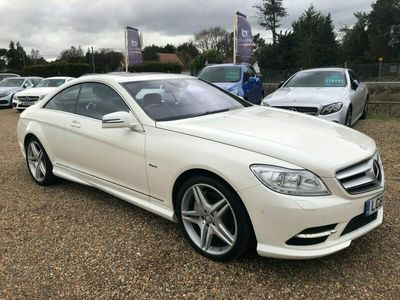 used Mercedes CL500 CL 4.7LBLUEEFFICIENCY 2d AUTO 435 BHP