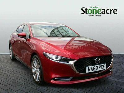 used Mazda 3 2.0 Skyactiv-X MHEV GT Sport Tech 4dr Auto Saloon 2019