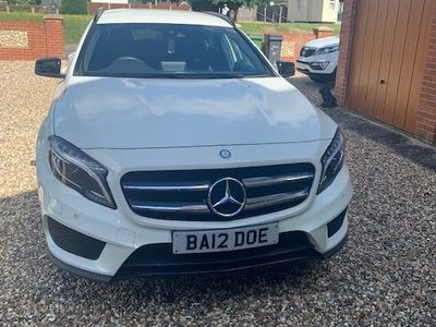used Mercedes GLA200 Gla Class 2.1AMG Line (Premium) 7G-DCT 4MATIC (s/s) 5dr