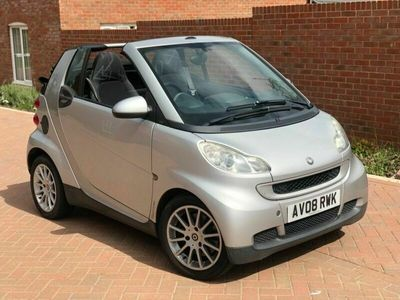 used Smart ForTwo Cabrio 1.0 Passion 2dr