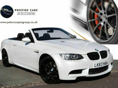 used BMW M3 Cabriolet 4.0 M3 500 DCT Auto 2-Door