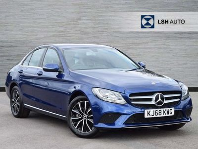used Mercedes C200 C ClassSe 4Dr 9G-Tronic Saloon 2019