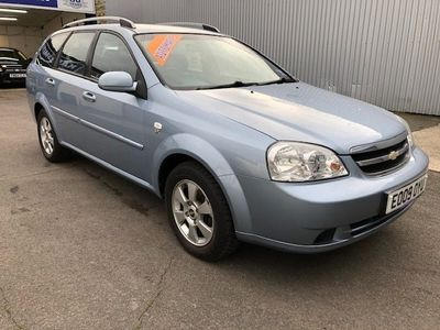 used Chevrolet Lacetti 1.8 SX 5DR AUTOMATIC