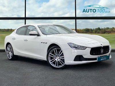 used Maserati Ghibli 3.0D V6 ZF (s/s) 4dr