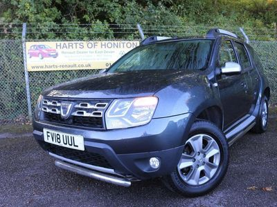 used Dacia Duster 1.5 Laureate Turbo Diesel 2WD Auto in Storm Grey 5dr