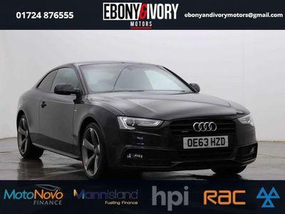 used Audi A5 2.0 TDI QUATTRO BLACK EDITION 2d 175 BHP