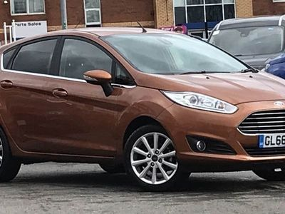 used Ford Fiesta 1.6 Titanium 5Dr Powershift