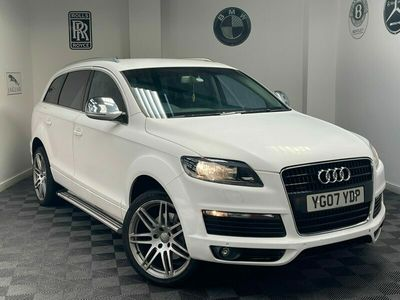 used Audi Q7 3.0 TDI Quattro SE 5dr Tip Auto ***PX BARGAIN*** HISTORY+SOME TLC REQUIRED+BARGAIN TO CLEAR