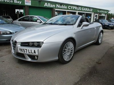 used Alfa Romeo Spider JTS 2-Door 2.2 2dr