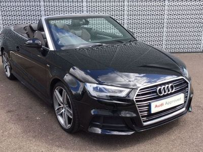 used Audi A3 Cabriolet S line 1.4 TFSI cylinder on demand 150 PS 6-speed