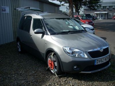 used Skoda Roomster Scout Roomster 2012TDi Cr MPV 2012