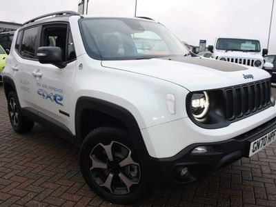 used Jeep Renegade 1.3 GSE T4 PHEV 11kWh Trailhawk Auto 4xe (s/s) 5dr