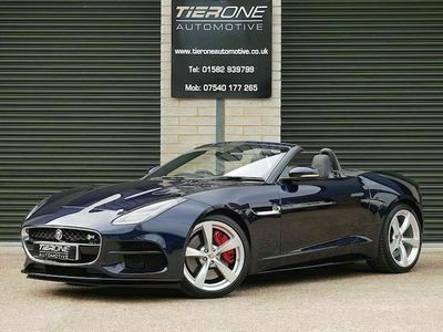 used Jaguar F-Type 5.0 V8 R Convertible 2dr Petrol Auto AWD (s/s) (550 ps)