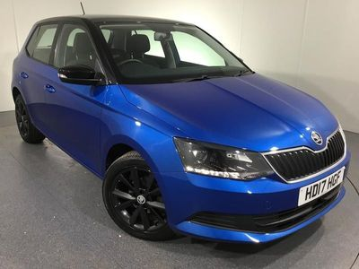 used Skoda Fabia HATCHBACK SPECIAL EDITIONS 1.0 TSI Colour Edition 5dr