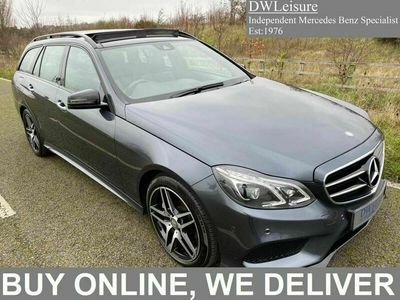 used Mercedes E350 E Class 3.0CDI BlueTEC AMG Night Edition (Premium Plus) 9G-Tronic Plus 5dr