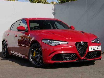 used Alfa Romeo Giulia Saloon 2.9 V6 Bi-Turbo Quadrifoglio Auto (s/s) 4dr