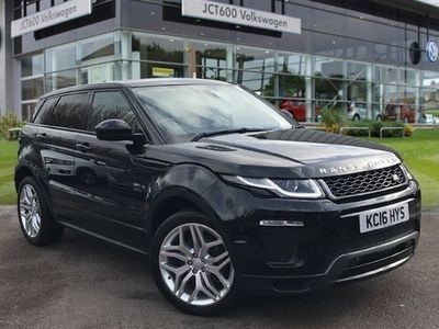 used Land Rover Range Rover evoque 2016 Wakefield 2.0 TD4 HSE Dynamic 5dr
