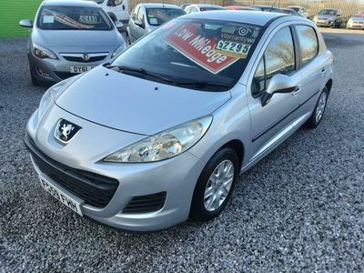 used Peugeot 207 1.4 VVTi HATCH-ONLY 41K-LOW INSURE-AIRCON-2 KEYS-LOW MILES,,,,,,,,,,,,,,,,, 5-Door