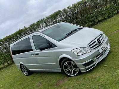 used Mercedes Vito 3.0 122CDI Dualiner Sport X Long Panel Van 5dr (EU5)