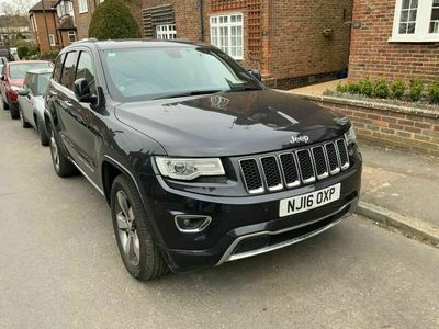 used Jeep Grand Cherokee 3.0 CRD Overland Auto 4WD 5dr