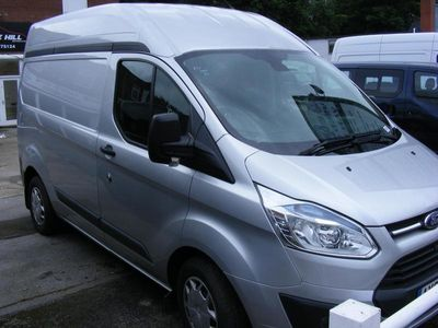 used Ford Custom Transit2.2 TDCi 125ps HIGH 310 Roof Trend Van, 2015 (65)