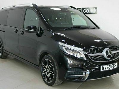 used Mercedes V220 V Class 2.0AMG Line G-Tronic+ XLWB EU6 (s/s) 5dr 8 Seat XLWB