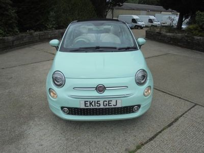 used Fiat 500C 1.2 (69bhp) LOUNGE (s/s) Convertible 2d 1242cc