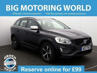used Volvo XC60 D4 R-DESIGN NAV for sale | Big Motoring World
