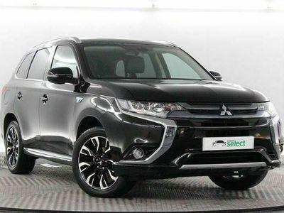 used Mitsubishi Outlander 2.0 PHEV 4h 5dr Auto suv 2017
