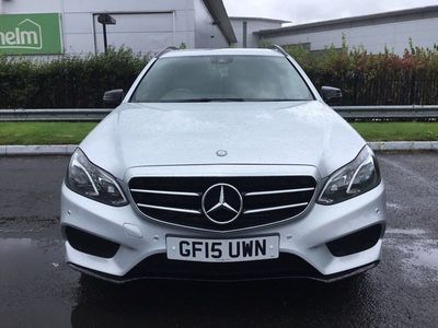 used Mercedes E220 BLUETEC AMG NIGHT EDITION Auto 5-Door