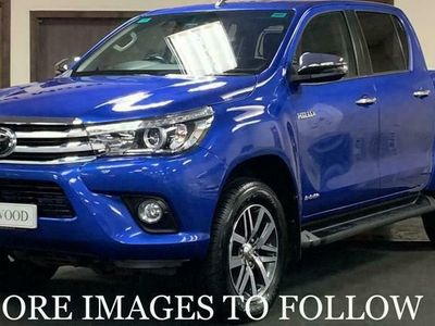 used Toyota HiLux 2.4 INVINCIBLE 4WD D-4D DCB 4d 147 BHP