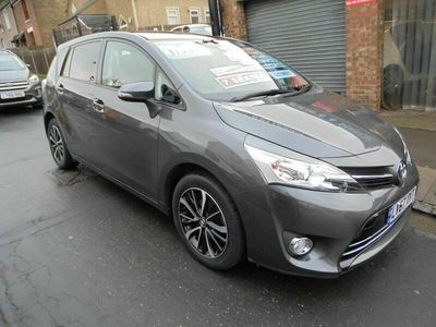 used Toyota Verso 1.8 V-matic Design Multidrive S 5dr (7 Seat)