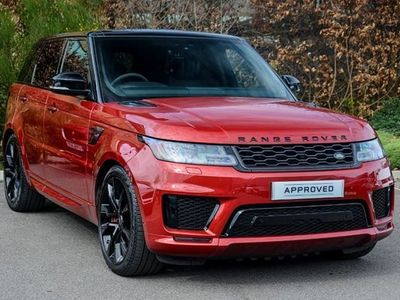 used Land Rover Range Rover Sport 3.0 P400 HST 5dr Auto