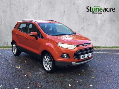 used Ford Ecosport 1.5 Ti-VCT Titanium SUV 5dr Petrol Powershift (149 g/km, 110 bhp)