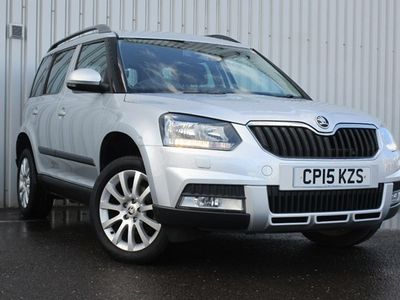 used Skoda Yeti Hatchback 2.0 TDI CR (140bhp) SE 4x4 Outdoor 5d DSG