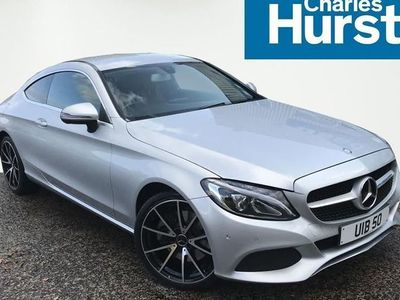 used Mercedes C250 C CLASS DIESEL COUPESport 2dr Auto