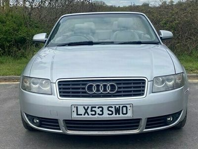 used Audi A4 Cabriolet SPORT